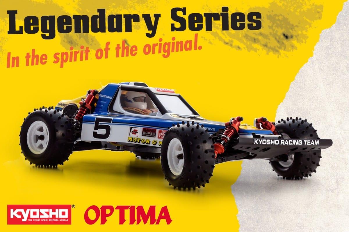 Kyosho Optima 2016 kit 1/10 4WD