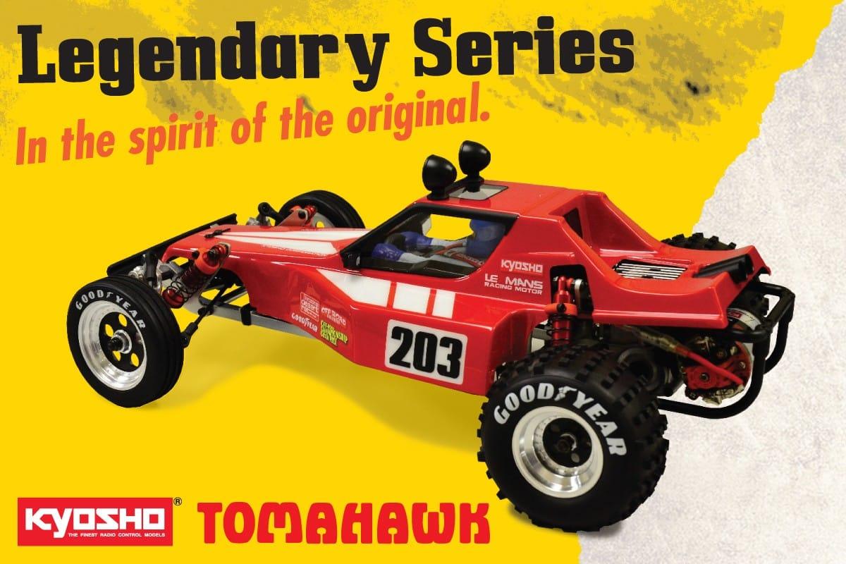 Kyosho Tomahawk 2015 kit 1/10 2WD