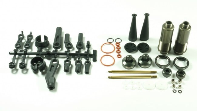 SWORKz S350/S350T series BBS Pro Shock System Rear Set ( +5.6mm) (2)